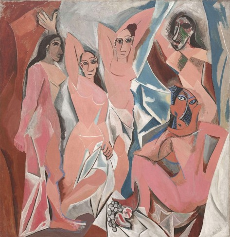 les-demoiselles-davignon-pablo-picasso-photo-in-public-domain