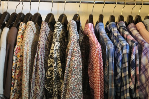 Floral Shirts at Balthazar Buenos Aires, by Robert Sheie